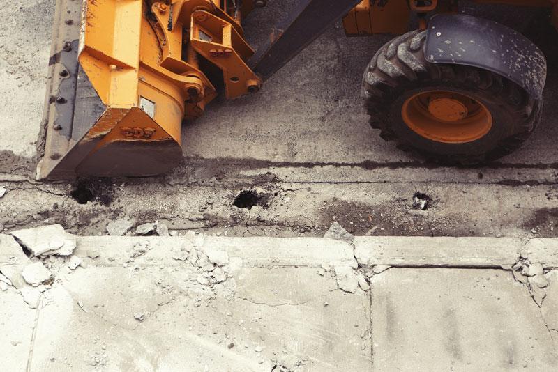 Pflasterarbeiten Baugrubenaushub Modellierungen Fundamente Wetter Tiefbau